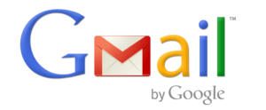 Gmail logo on Fizure