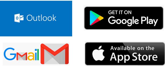 Planyard fungerar på Outlook. Android, iOS och Gmail